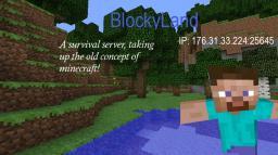 BlockyLand (CLOSED) Minecraft Server