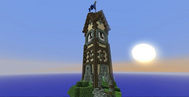 """Residents of """"PhoenixLanding"""" will recognize this clock tower from the eastern district."""