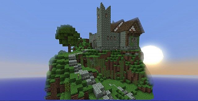 """Fortified Home (Includes piston lava draw bridge) R.K players know this as the """"Tristan's Lord's house"""""""