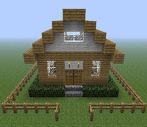 House Ideas Guide For Minecraft: Small Cottage Home Minecraft Project