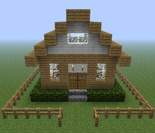 small cottage home minecraft project