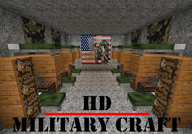 Military Craft HD 128x Minecraft Texture Pack