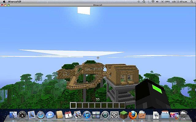 Casa en el arbol minecraft project - Casas en arbol ...