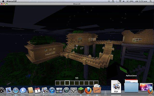 Casa en el arbol minecraft project - Casa en el arbol ...