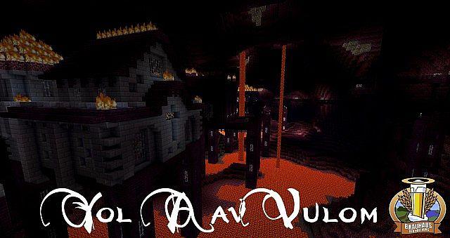 Yol Aal Vulom - a City inside a vulcano