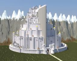 Minas Tirith Full Scale (Lord of the Rings) Minecraft