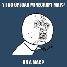 How to upload a Minecraft World/Project~~~MAC Minecraft Blog