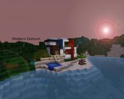 moderni domum Minecraft Map & Project