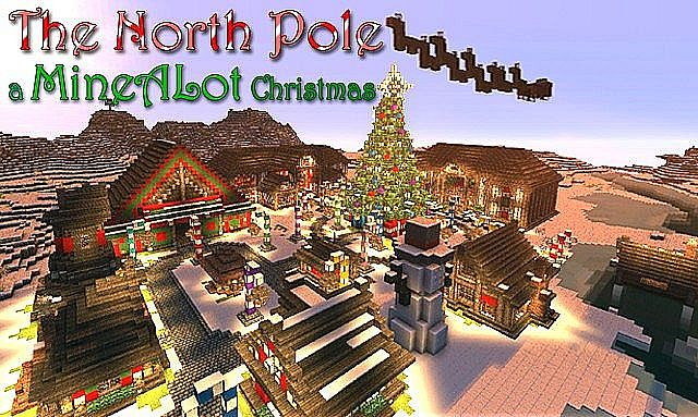 Christmas Minecraft World.Christmas World 1 4 5 Minecraft Server