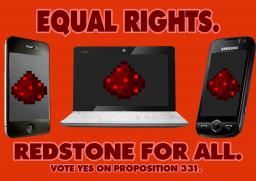 Redstone for Pocket Edition: Help Us Change Minecraft With Proposition 331!