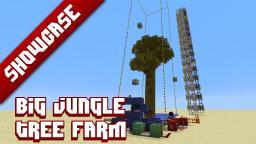 BIG jungle tree farm - feed the beast Minecraft Map & Project