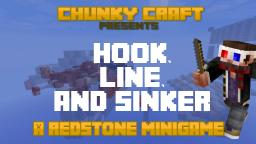 Hook, Line & Sinker - A Redstone Minigame Minecraft Map & Project