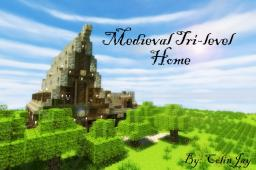 Medieval Tri-level Home Minecraft Map & Project