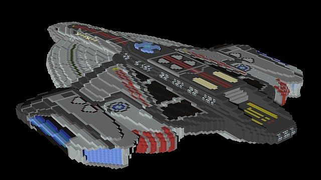 Uss obsidian minecraft project for Star trek online crafting leveling guide