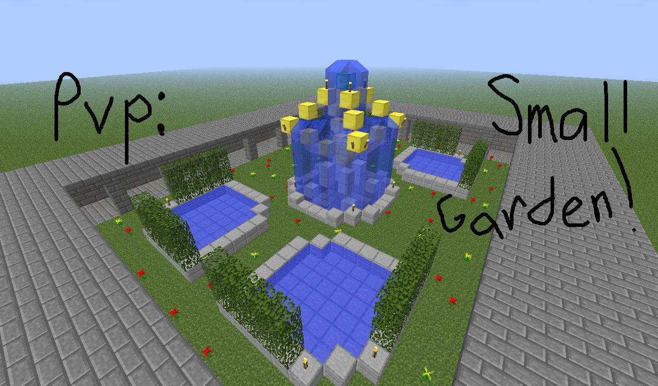 Small Garden Pvp Minecraft Project