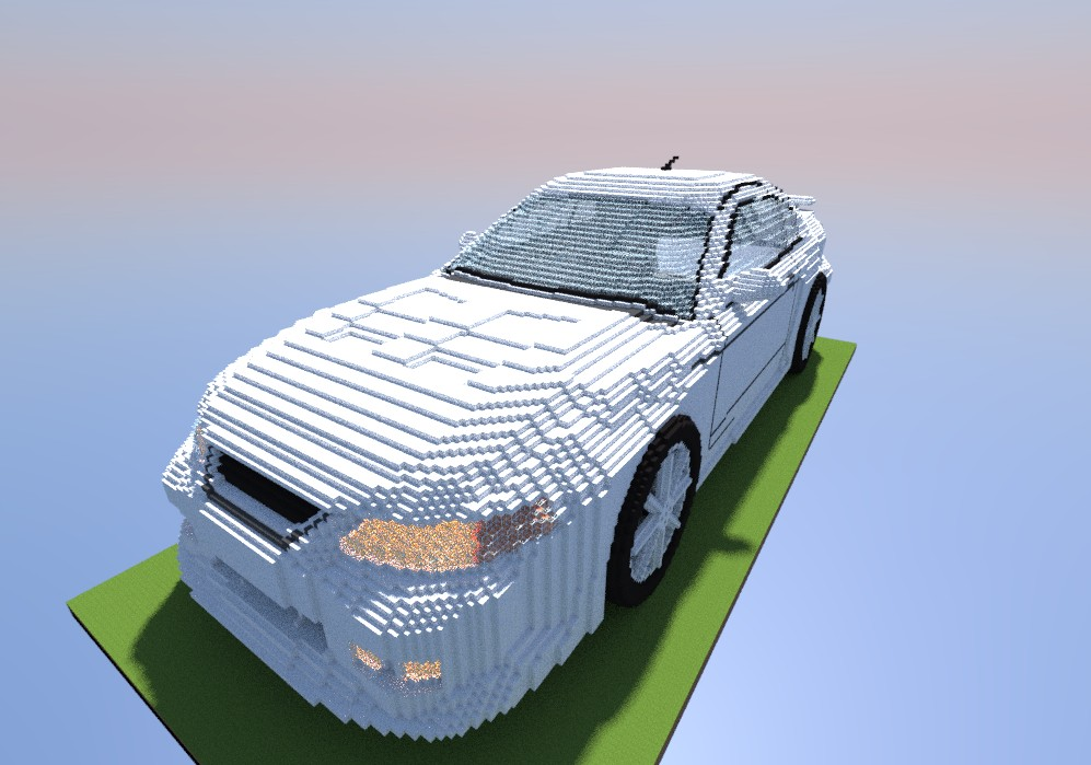 Ford Mustang Minecraft Project