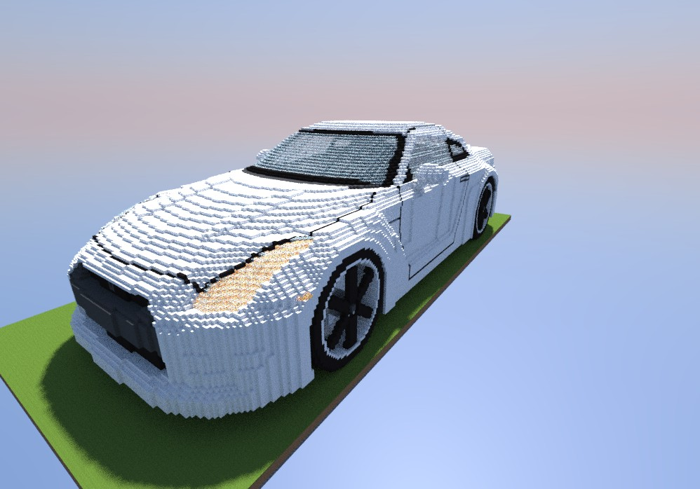 Nissan Gt R Minecraft Project