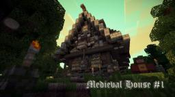 Medieval house #1 [Fantasy theme] (with schematics) Minecraft Project