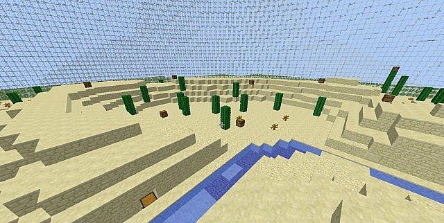 HungerCrafter's HG Desert Biome