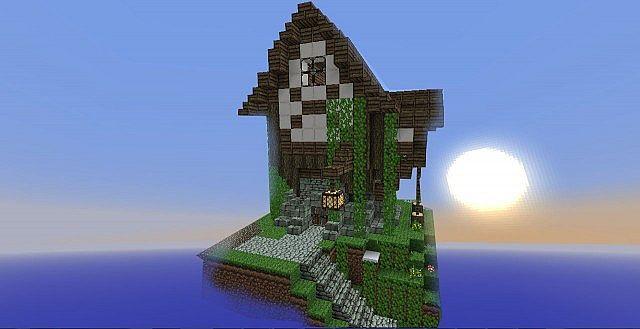Medium House on a hill.