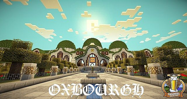 Oxbourgh - a medieval  steampunk City