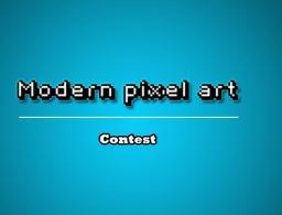 Modern pixel art [CONTEST] reached level 20! Minecraft Blog