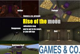 rise of the moon- adventure map Minecraft Project