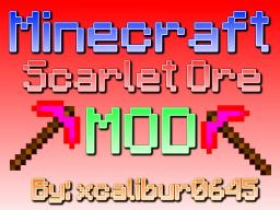 [1.4.5] Scarlet Ore Mod (New Ore) V2 [[V3 Discontinued! :'(] Minecraft Mod