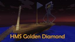The HMS Golden Diamond Minecraft Map & Project