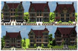 Victorian terraced houses collection (Vitruvian City) Minecraft