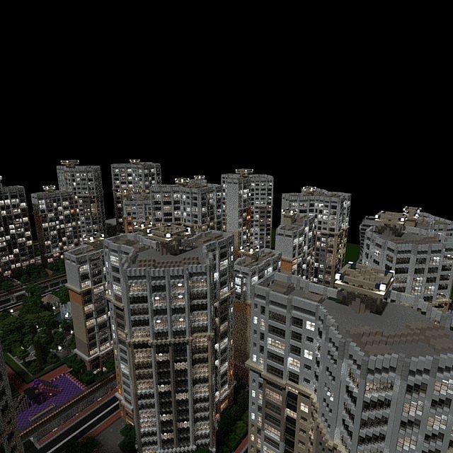 Minecraft Apartment: Apartment Complex Minecraft Project