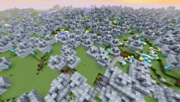 The Diamond Forest (Find The Emerald Tree) Minecraft Map & Project