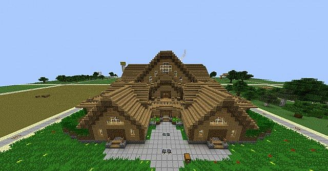 Building guide for all minecraft project for First time home building guide