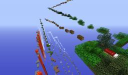 Super Parkour Minecraft Map & Project