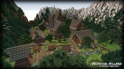 [EC] Greyshire - Medieval Village [Timelapse   Download] Minecraft Map & Project