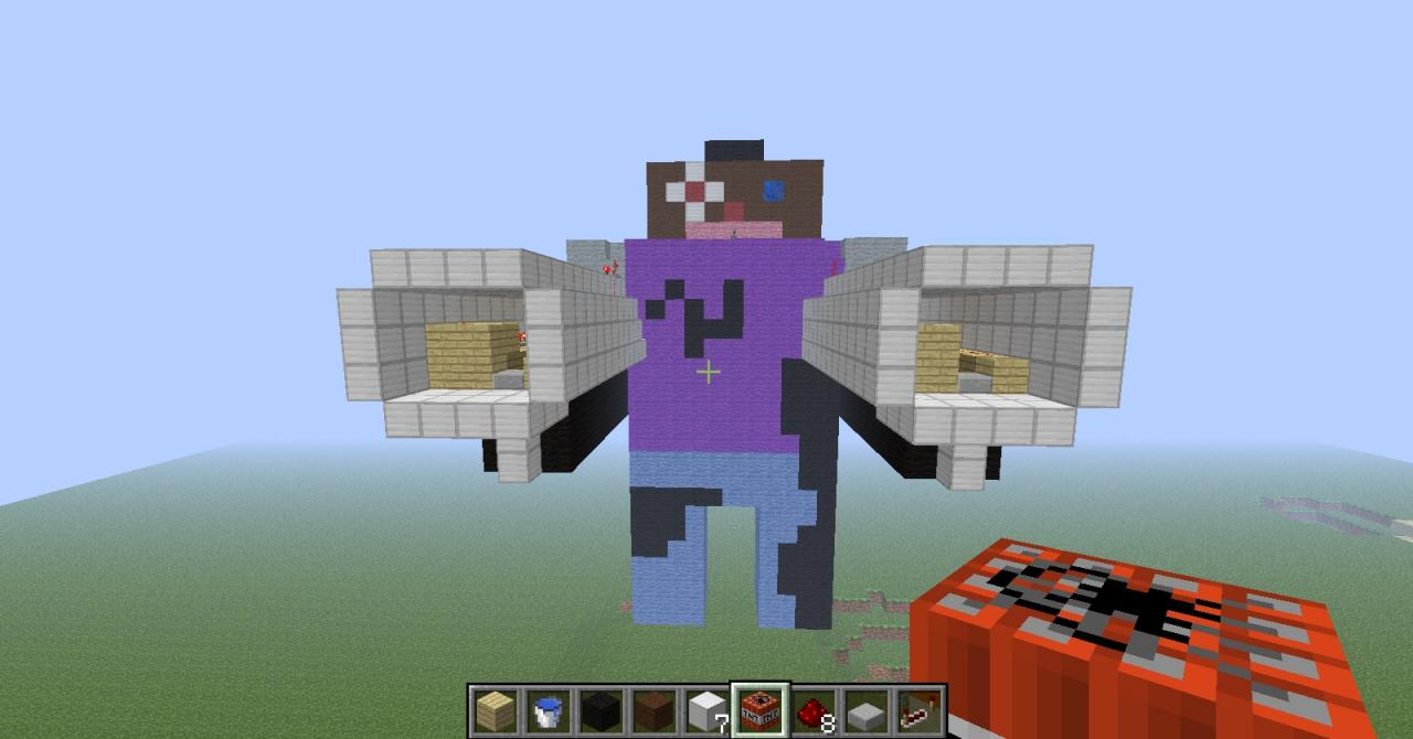 Worksheet. TNT Man  Stuff Minecraft Project