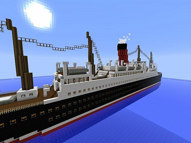 Rms Carpathia Minecraft Project