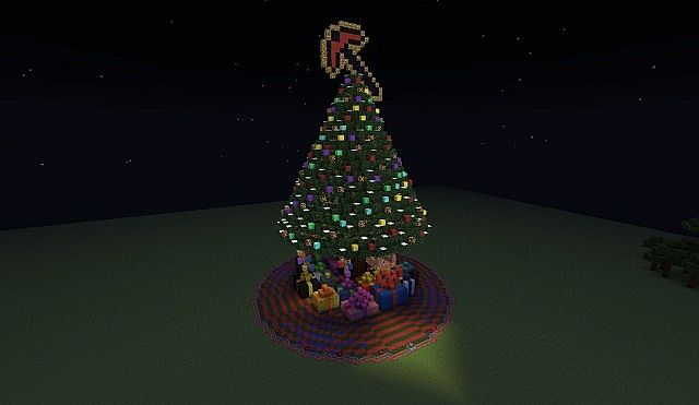 Giant Christmas Tree + Presents! Minecraft Project