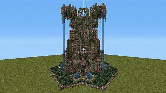 Airship Mooring Tower Amp Access Bridge Minecraft Project