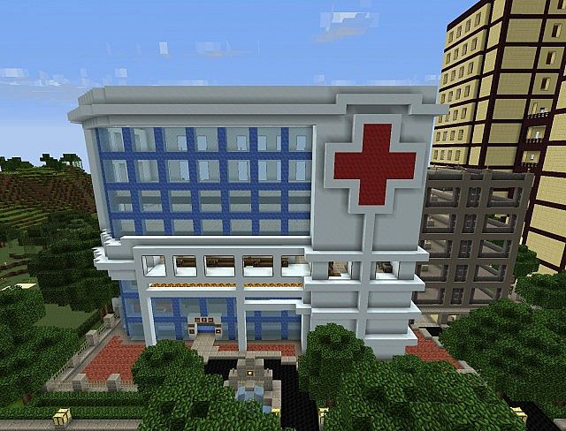 Hospital Minecraft Project