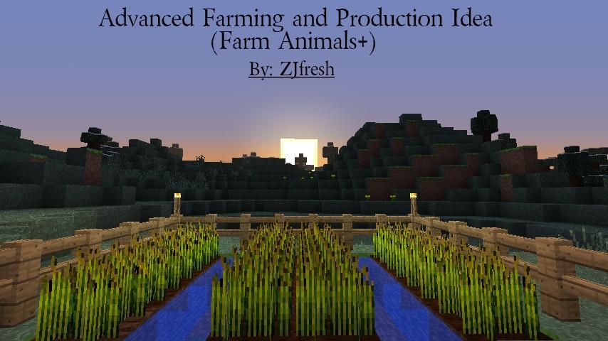 Contest] [Minedeas] Advanced Farming and Production Idea