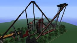 No Escape - The Rollercoaster (Featured in the minecraft construction handbook) Minecraft