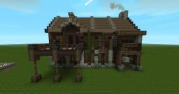 Worn Down Medieval Tavern Minecraft Map & Project