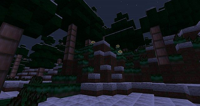 Awesome Winter biome :D