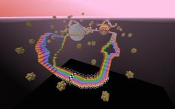 Pig Race Rainbow Road Minecraft Map & Project