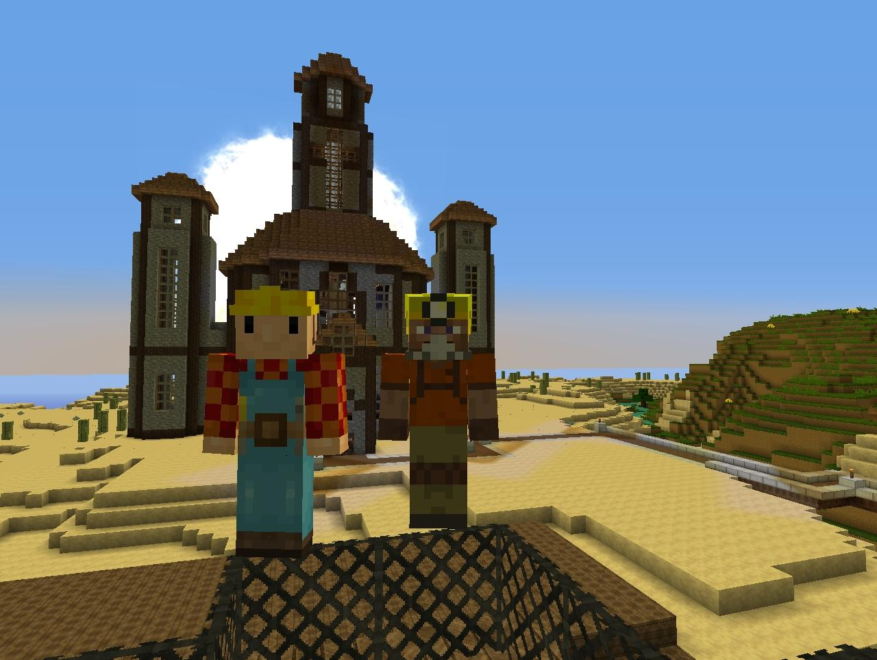 Minecraft Kirchturm