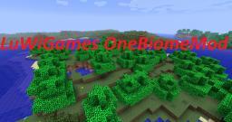 [1.4.5.] LuWiGames OneBiomeMod Minecraft Mod