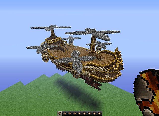 minecraft airship final fantasy wwwpixsharkcom