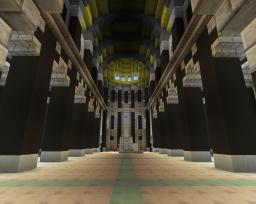 Minas Tirith - Throne Room Minecraft Map & Project