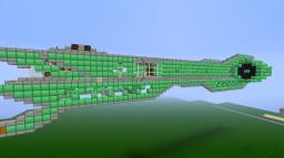 Small Air Ship by +ClockMaster+ Minecraft Map & Project